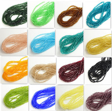Buy 200pcs 4mm Bicone Crystal Glass Loose Spacer Beads DIY Jewelry Making for $1.25 in AliExpress store