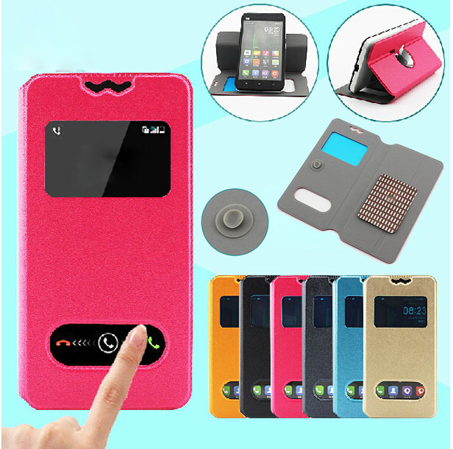 Wholesale + Retail Flip Pu Leather Phone Case for BLU Life Play Mini Cases(China (Mainland))