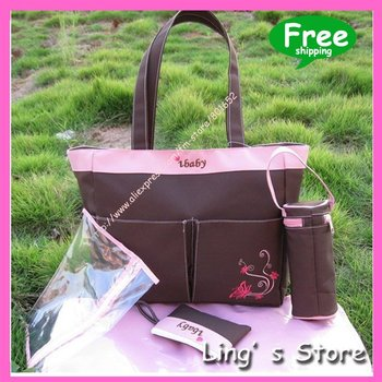 Beautiful fashion Mommy Bag /IBABY  Mummy bag / Nappy Bag//Diaper Bags