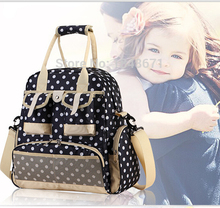 New Fashion Baby Diaper Backpack Shoulders Baby Maternity Mother Bag Baby Diaper Nappy Changing Bag Stroller Bag Multifunctional(China (Mainland))