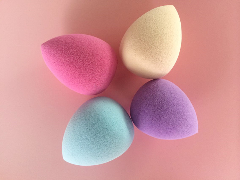 Four Colors pink blue purple yellow Lovely Makeup Sponge Select You Like(China (Mainland))