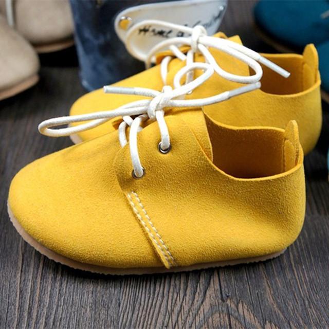Бесплатная доставка Сначала Ходунки Натуральной Кожи Младенца обувь крытый нескользящей ...