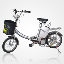 DHL Freeshipping 18 inch high power folding electric bicycle(China (Mainland))