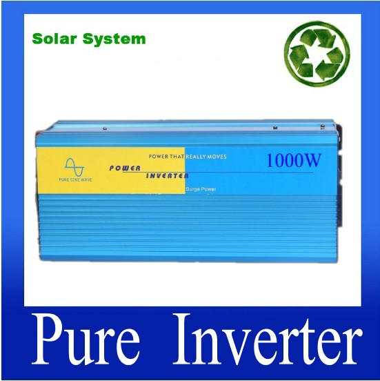 DC24V to AC230V 1000W Pure Sine Wave Home Inverter with 2 Years Warranty CE and RoHS Approved<br><br>Aliexpress