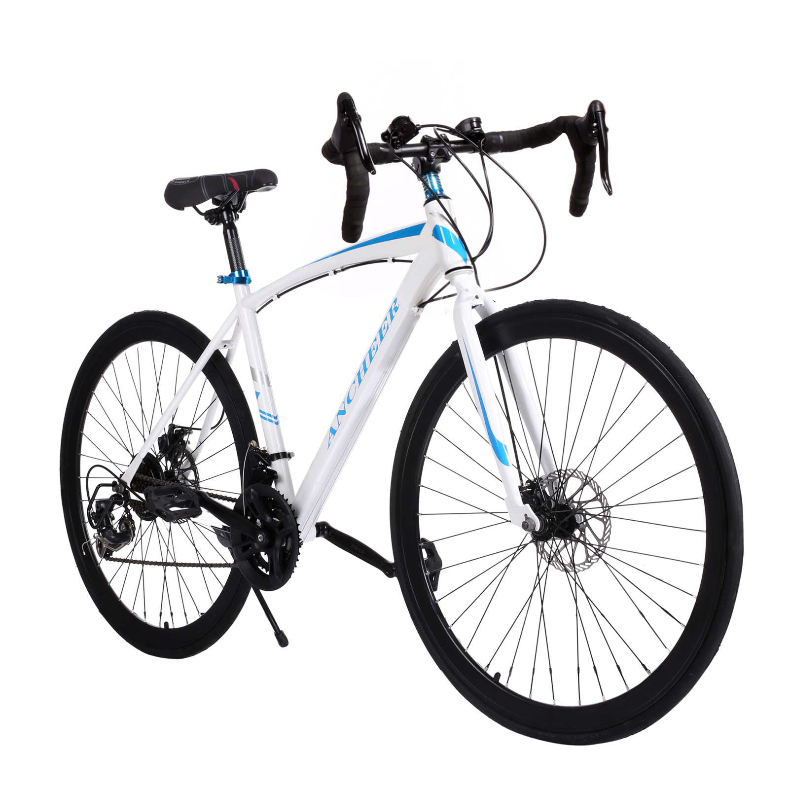 Ancheer High Quality 700C Aluminum Fixed Gear Road Bicycle Road Cycling Road Bike 4 Color(China (Mainland))