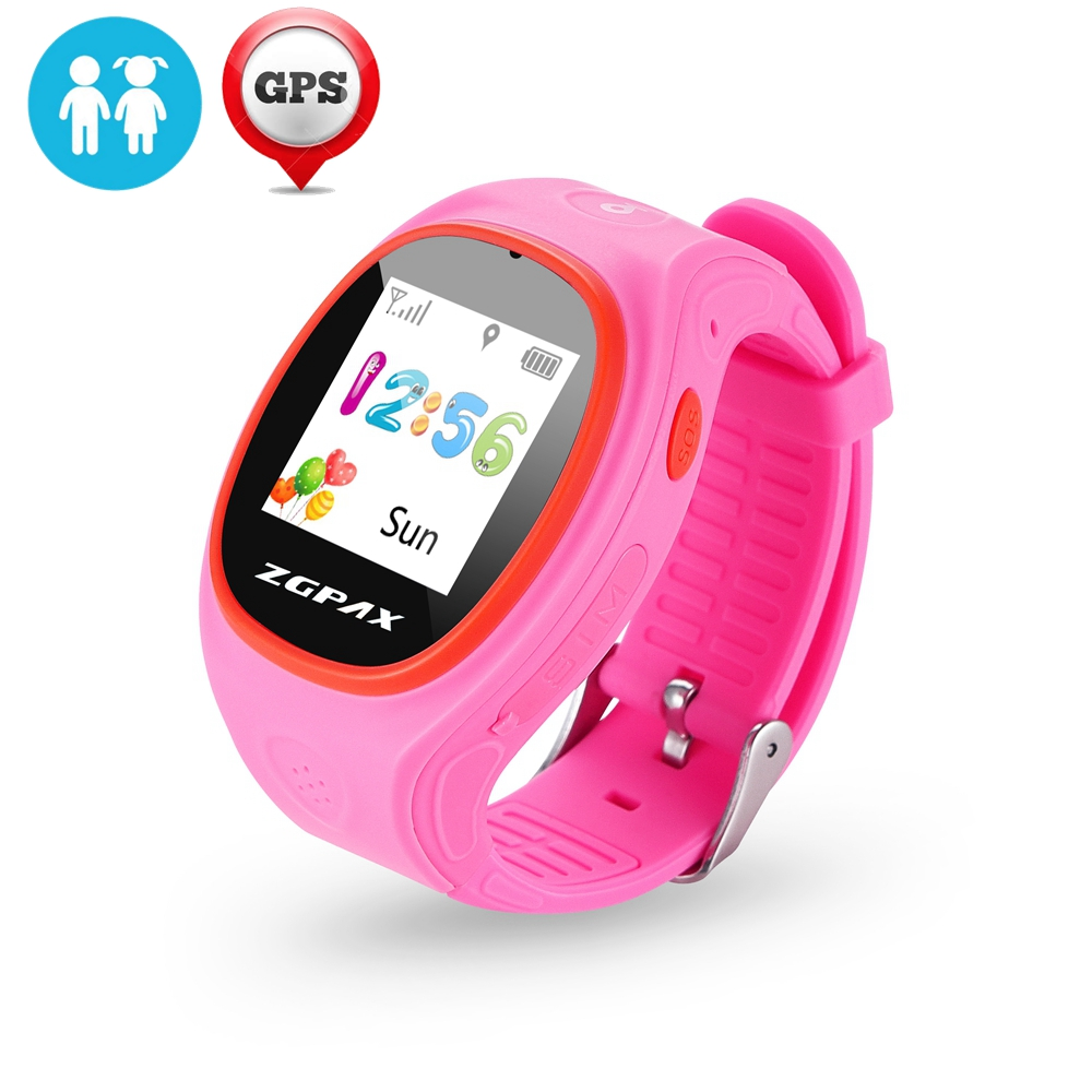 GPS Tracker Watch For Kids SOS Emergency Child Guard GSM SIM Smart Mobile Phone App Bracelet Wristband Alarm for Android iOS(China (Mainland))