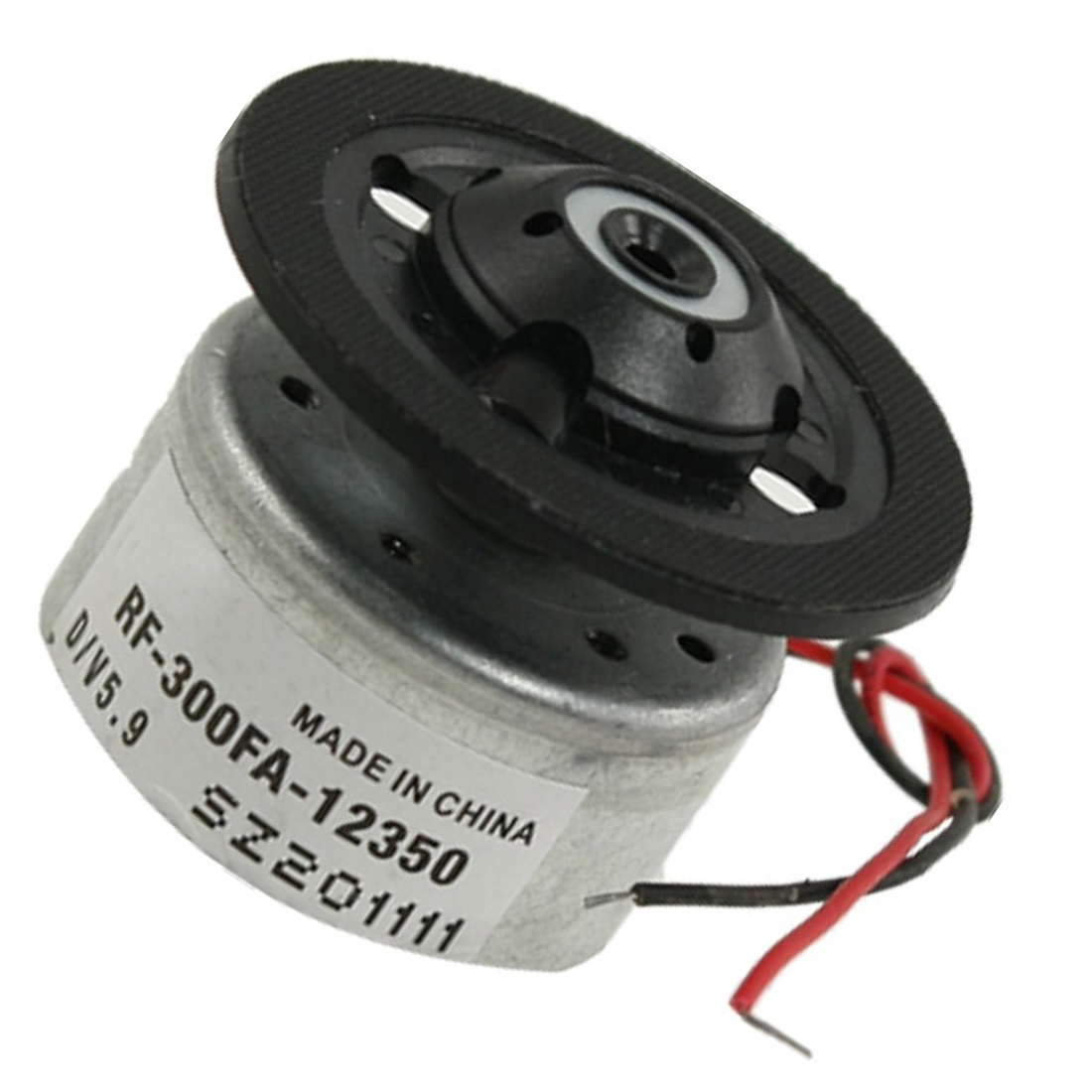 JFBL Hot RF-300FA-12350 DC 5.9V Spindle Motor for DVD CD Player Silver+Black(China (Mainland))