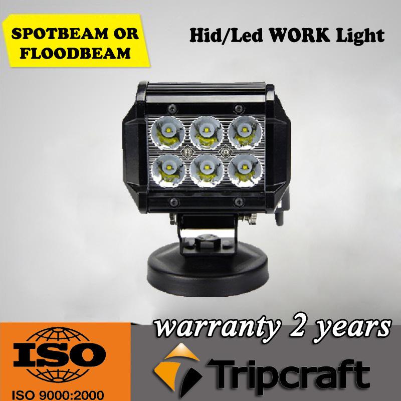 6PCS/LOT NEW PRODUCT 6x3w LED DRIVING LIGHT 6PCS*3W Cree LED,LED Light Bar(China (Mainland))