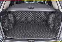 Buy quality! Special trunk mats Mercedes-Benz GLK 200 2015-2013 waterproof leather carpets MB GLK200 2014,Free for $173.84 in AliExpress store