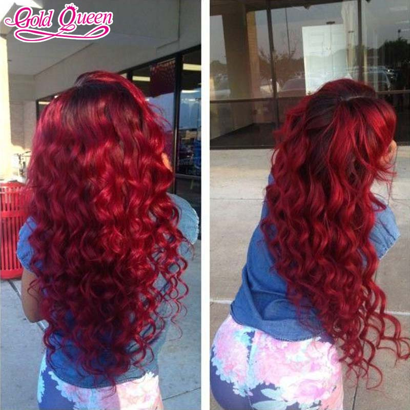 top 7a virgin Brazilian human hair ombre wig 180% density ombre lace front wigs&amp;glueless full lace wigs for white women<br><br>Aliexpress