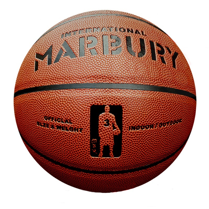 2016 New Brand Authentic Marbury Men's Basketball,American Official Suede Slip Ball Size 7,PU Leather Training Bastetball Ball(China (Mainland))