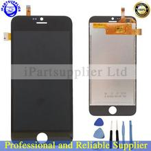 100% Original New LCD Display+Touch Screen Digitizer Glass Panel Assembly Blackview Ultra A6 Phone - Black white iPartsupplier Ltd store