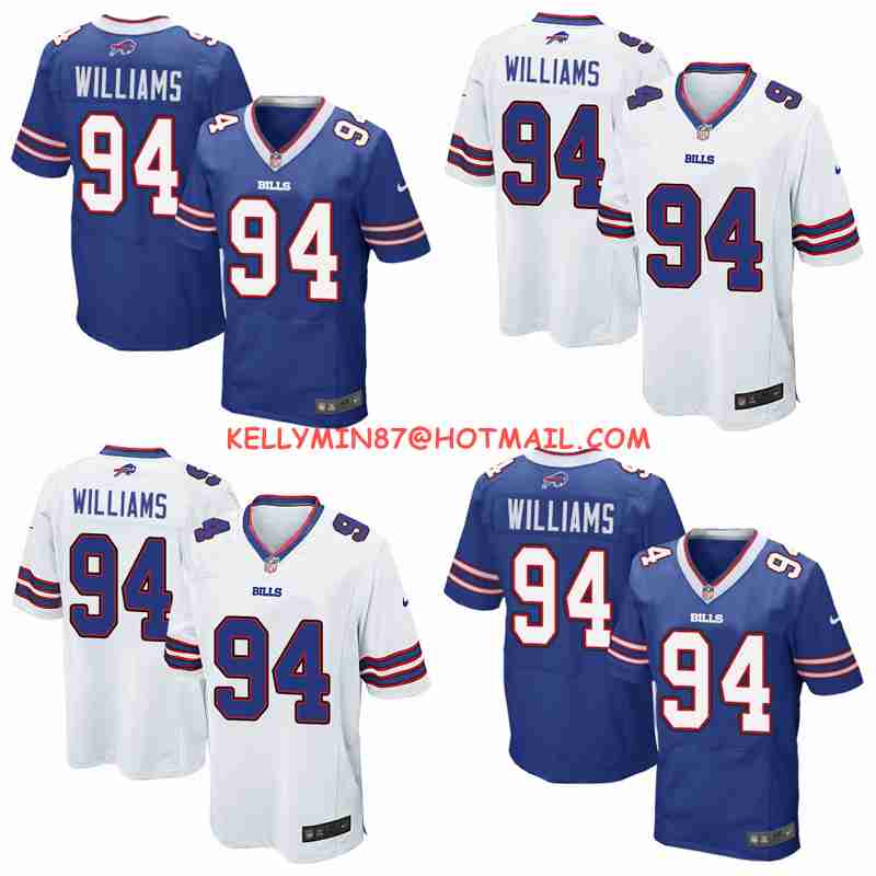 100% Stitiched,high quality,Buffalo bill Mario Williams for mens(China (Mainland))