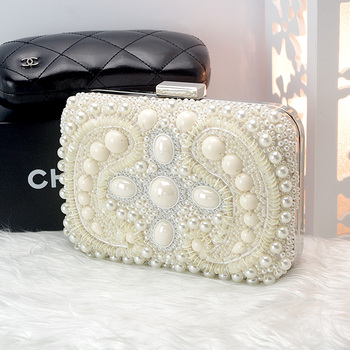 Women's Luxury Diamond Clutch