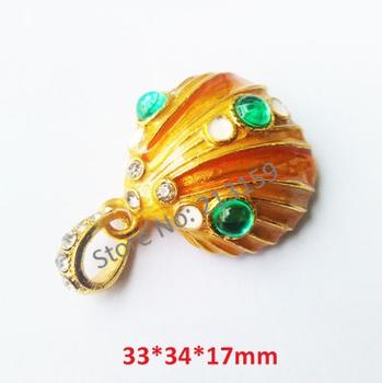Jewelry Emerald Shell USB Flash Drives 2GB 4GB 8GB 16GB 32GB + Free DHL/EMS (30pcs/lot)