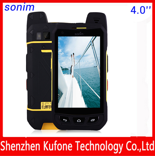 2015 new Sonim 4G IP69 waterproof Quad Core 1G 16G Walkie Talkie 4 5 celular android