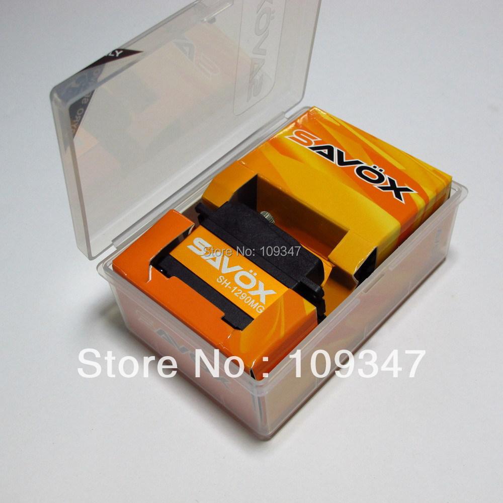 Free shipping+HK post Genuine licensed Taiwan SAVOX SH-1290MG metal gear/servo(China (Mainland))