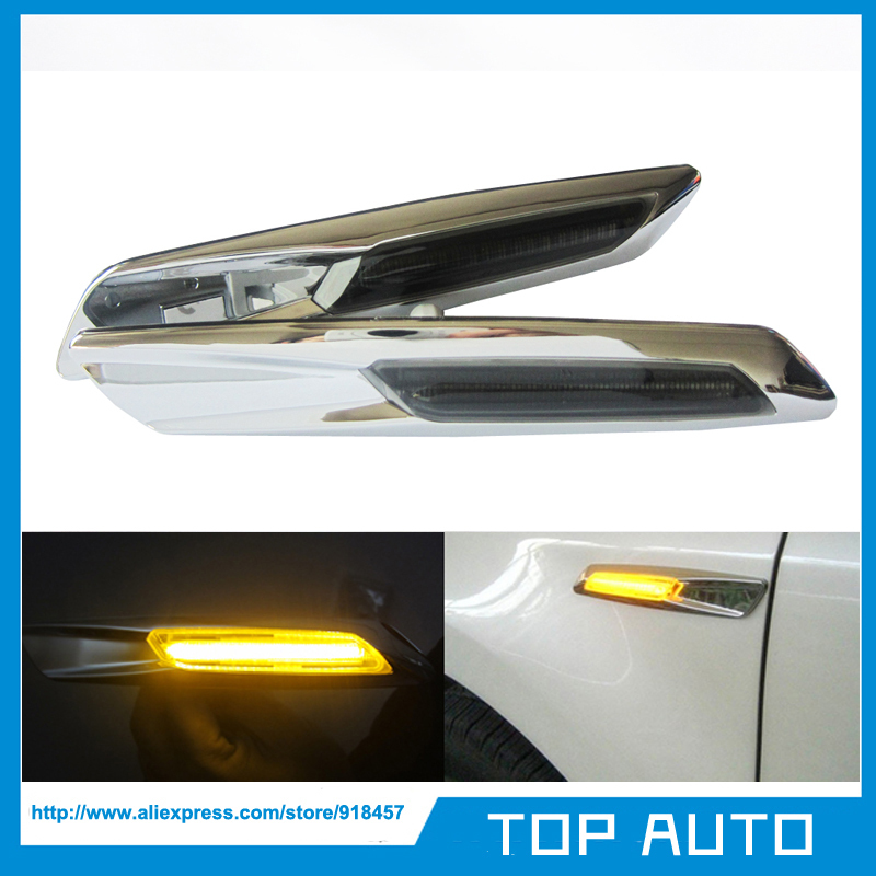 Amber Led Side Marker Light For Bmw E60 E82 E83 E88 E90
