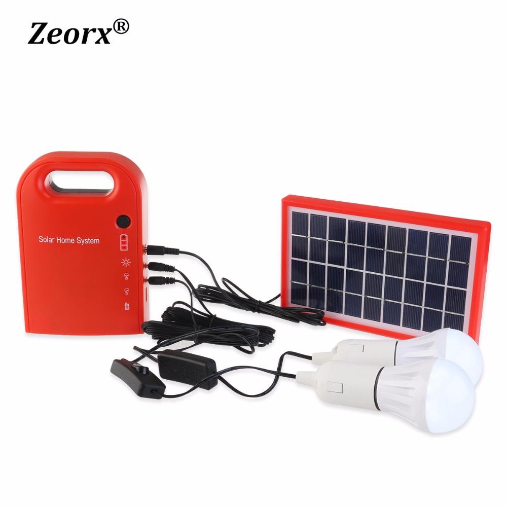 Portable 3W Mini Solar Home System Solar Energy Kit Solar Generator with 2 Bulbs Lead Acid Battery outdoor solar camping light(China (Mainland))