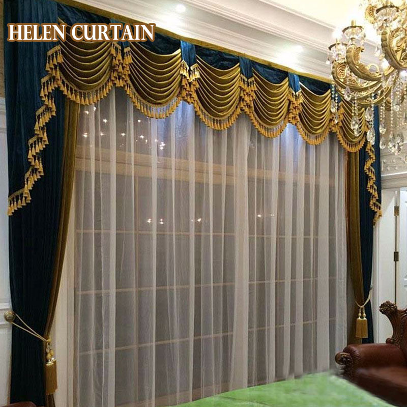 Online buy wholesale velvet blackout curtains from china for B q living room curtains