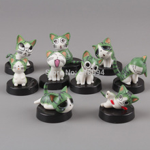 Free Shipping Anime Cartoon Chi's Sweet Home PVC Action Figures Toys Dolls 9pcs/set Christmas Gifts Child Toys CHFG003