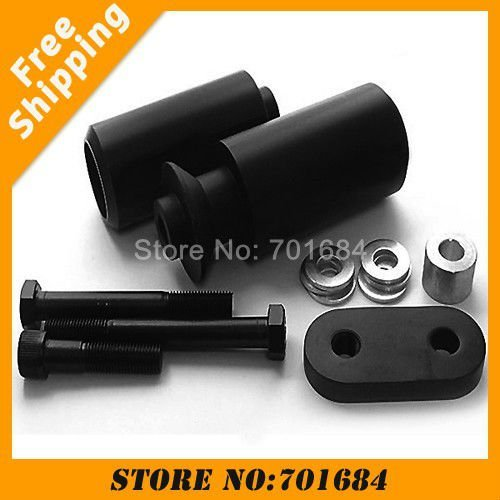 NEW Brand High Density Plastic for Yamaha YZF600 R6 06-07 Frame Sliders Free Shipping [P350]