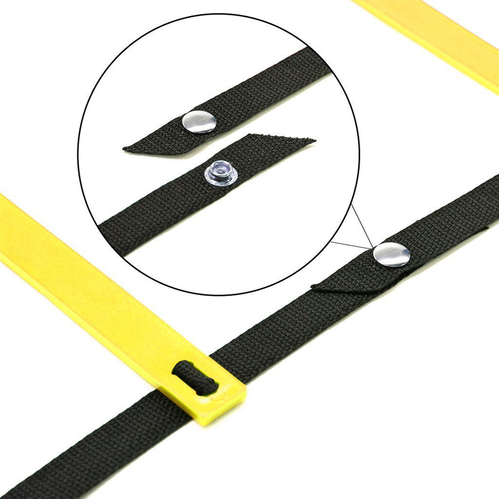 Durable 10 Rung 15 Feet 5m Agility Ladder For Soccer Speed