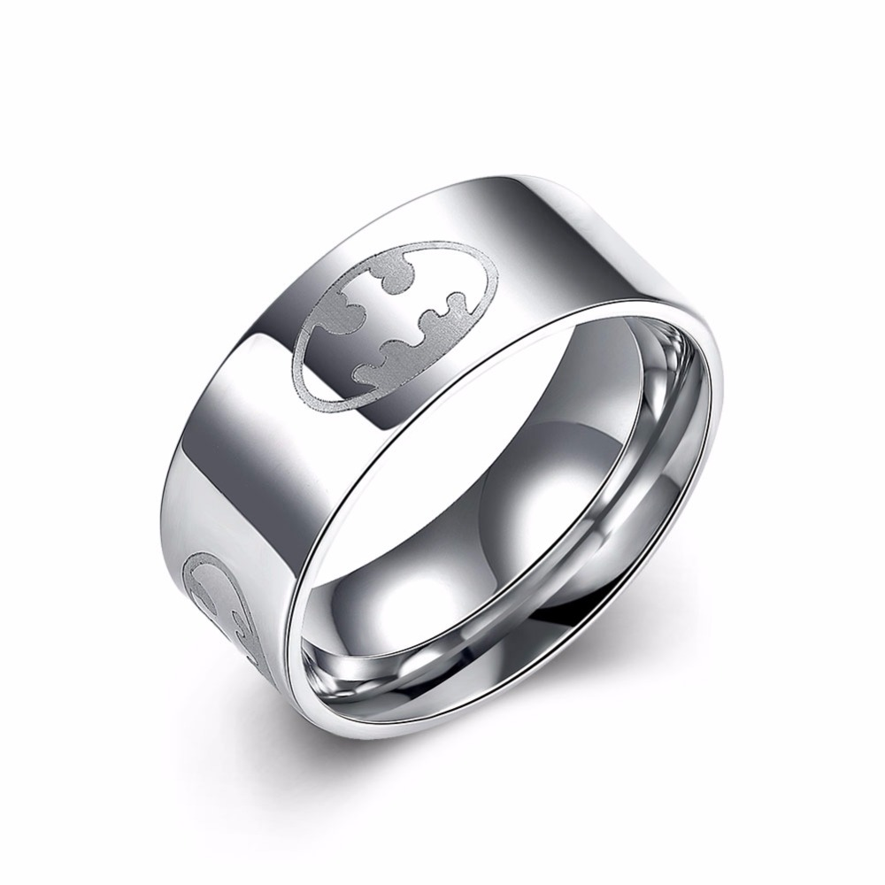 Hot Sale!!!Simple Stainless Steel Ring for Men New Trendy Stainless Steel Jewelry Nice Gift for Boyfriend Free Shipping(China (Mainland))
