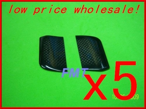 F00648-5,   5Pairs Black Carbon Flybar Paddle For All   T-rex 450 + FS