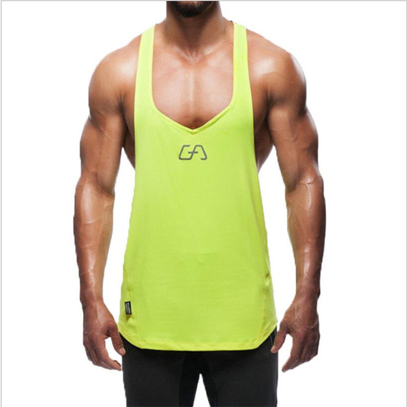 2016 New Men's Vivid Gym Tank Tops Low Cut Armholes Vest Sexy Men's Tank Xman Muscle Man's Fitness Sport Suit(China (Mainland))