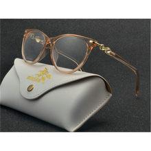 Фирменный дизайн, винтажные женские очки, оправа, очки, Ретро Кот, оптические прозрачные линзы, очки для чтения, FML(Китай)