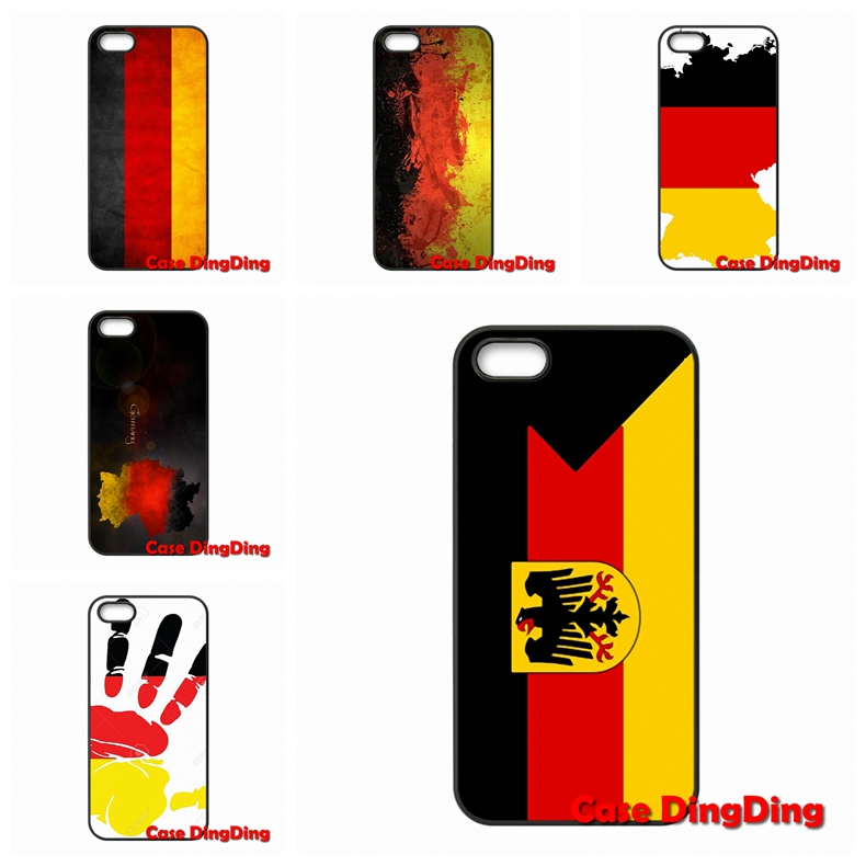 For iPhone 4 4S 5 5C SE 6 6S Plus Apple iPod Touch 4 5 6 Moto X1 X2 G1 E1 Razr D1 Razr D3 Germany Flag national Emblem Luxury(China (Mainland))