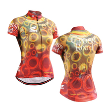 2016 New Women's Cycling Jersey Bike Bicycle Comfortable short Sleeve Outdoor Shirts Jacket Top Coat colorful(China (Mainland))