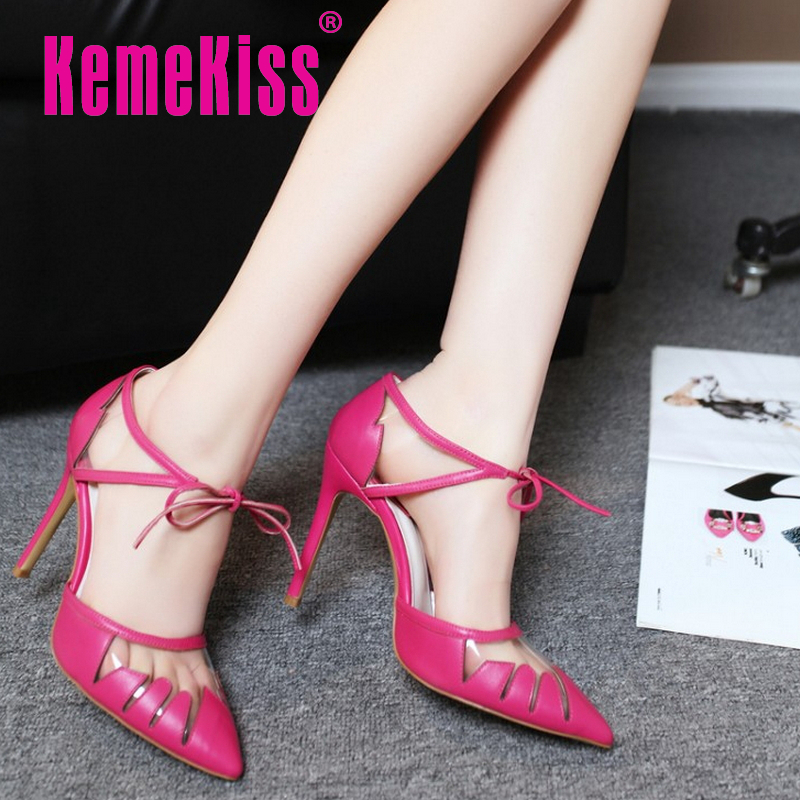 women real genuine leather stiletto cross strap party high heel sandals brand sexy fashion heeled ladies shoes size 34-39 R6075<br><br>Aliexpress