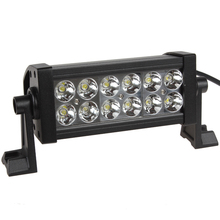 6.4 Inch 12V/24V 2520LM 36W Waterproof LED Work Light For Motorcycle / Tractor / Boat / 4WD Offroad / SUV / ATV (China (Mainland))