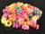 Wholesale 100pcs / lot Mix Color Child Kids Hair Holders Rubber Bands Hair Elastics Accessories Girl Charms Tie Gum Accessory