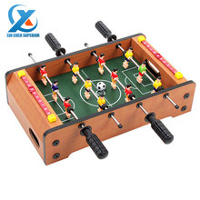 Mini 4 Rods Table Football Desktop Foosball Soccer Table Toy Interactive Game Toy Children Educational Sport Toys Fast Shipping(China (Mainland))