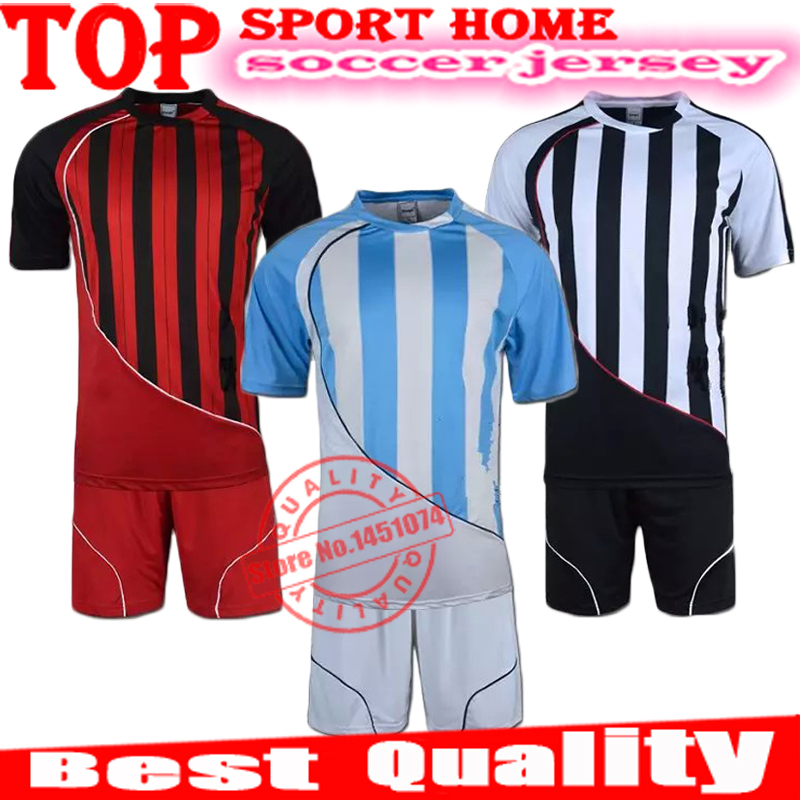 15001 model training kits,customized logo in the kits and customized fonts short sleeve soccer clothing football clothes jersey(China (Mainland))