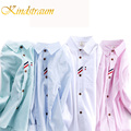Kindstraum 2017 New Fashion Boys Shirts Spring Autumn Kids Causal Clothes Cotton Solid Style Formal Shirts