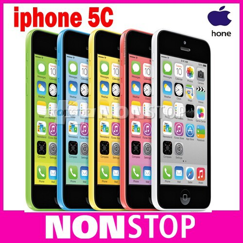 iPhone5c 100% Factory Original Apple iPhone 5C Dual-core iOS 8 1G RAM 32G ROM 4.0 inches 8MP Camera 5 Colors WIFI GPS Cell Phone(China (Mainland))