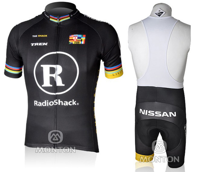 Radio Shack Short sleeve New team Trekking quick dry Cycling jersey Bike Clothes breathable MTB Ropa Ciclismo Bicycle clothing(China (Mainland))