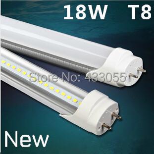High Lumens 18W/20W LED Tube Light T8 1200mm 1.2m 4 Foot Fluorescent Tube 85-265V AC Pure /Warm White Free Fedex+25pcs/lot(China (Mainland))