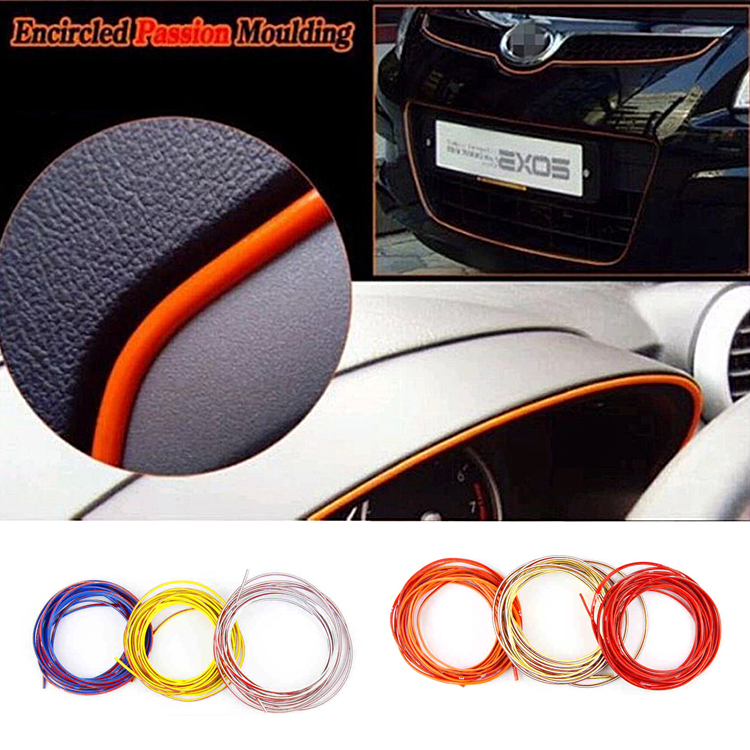 Car Decoration Sticker Thread Stickers Auto Car Styling indoor pater Car Interior Exterior Body Modify Decal