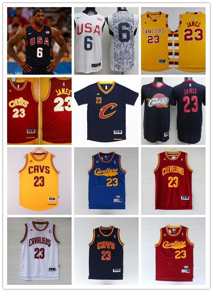 2016 men 55 new arrivals,best quality,Cleveland Cavaliers,LeBron James high school irish(China (Mainland))
