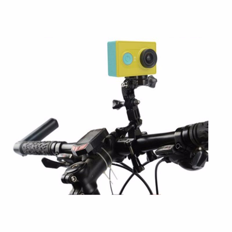 Xiaomi Yi Accessory Bike Handlebar Bicycle clamp Mount holder For Xiaomi Yi 2 4K Sony HDR-AS30V HDR-AS100V AS200V Action Camera