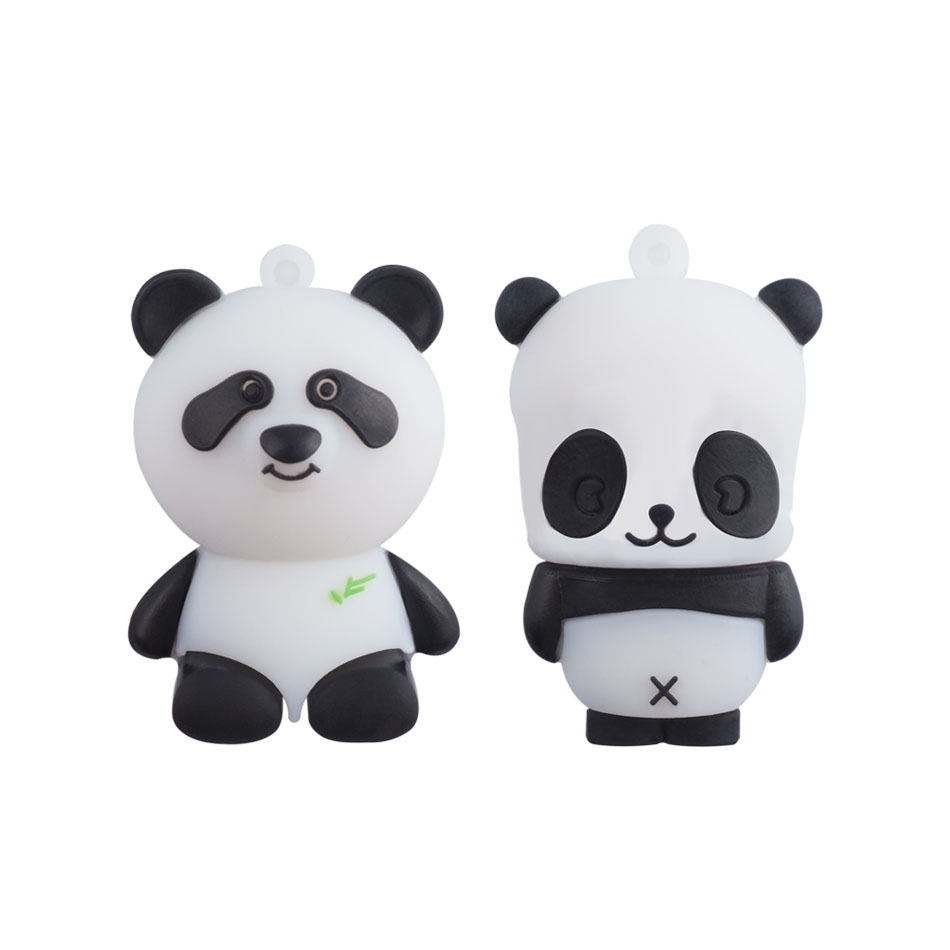 Cartoon Panda Usb Flash Drive Pen Drive 4gb 8gb 16gb 32gb 64gb Pendrives U Disk Flash Card hot sale Memory stick(China (Mainland))