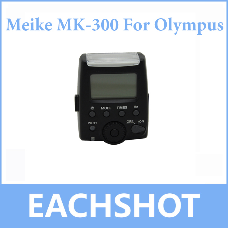 Meike MK-300 MK300 LCD i-TTL TTL Speedlite Flash Light For Olympus