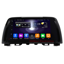 Quad core 1024x600 Android Car DVD GPS for Mazda 6 2013+ with Bluetooth Radio RDS Wifi 3G host Mirror-link Free 8GB Map Card(China (Mainland))