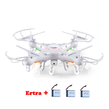 Free Shipping New Updated Version Syma X5C 2.4G 6 Axis GYRO HD Camera RC Quadcopter RTF With 2.0MP Camera And 4GB Card