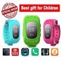Smart Phone Watch Children Kid Wristwatch G36 Q50 GSM GPRS GPS Locator Tracker Anti Lost Smartwatch